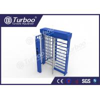 Quality Stainless Steel Full Height Turnstile Automatic Access Control System Gate for sale
