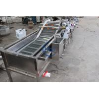 Buy cheap Automatic Ozone Air Bubble Vegetable Washing Machine For Tomato Celery Salad from wholesalers