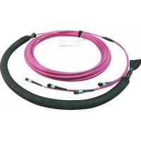 China Multimode Mtp Fiber Cable , Mpo Fiber Cable With Pulling Eye For Protection on sale