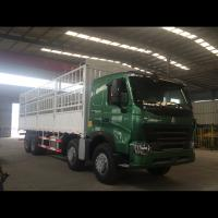 12 Wheelers Small Cargo Truck / Commercial Cargo Truck 30 - 40 Ton Loading Capacity