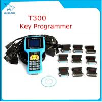 China T300 Key Programmer Newest V16.8 T 300 T-300 OBD2 Auto Key Transponder English Spanish Optional T300 T-code Key Maker on sale