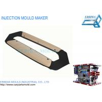 Buy cheap Shiny Car Parts Plastic Moulded Components Door Panel Trim With Wood Look from wholesalers