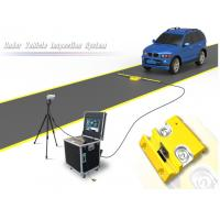 Buy cheap Portable Under Vehicle Surveillance System With Automatic Digital Line Scan from wholesalers