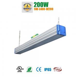 Quality High Voltage 347v 480v Linear High Bay LED Lighting 200w Industrial Linear Lighting for sale