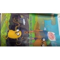 Quality Soft lenticular materials TPU printing 0.36mm for changing flip lenticular print  fabric clothes for sale