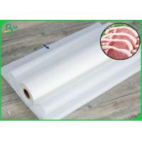 China 30gr 40gr White Color MG Butcher Wrapping Paper Roll For Meat on sale
