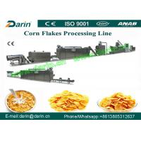 Quality Continuous and Automatic Corn Flakes Processing Machine / Machinery for sale