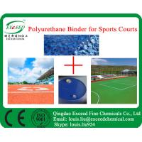 China Wetpour PU Binder for outdoor courts on sale