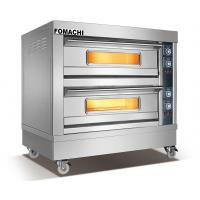 Quality Hot Sale Electric Deck Oven 2 Deck 4 Trays Front S/S FMX-O38B for sale