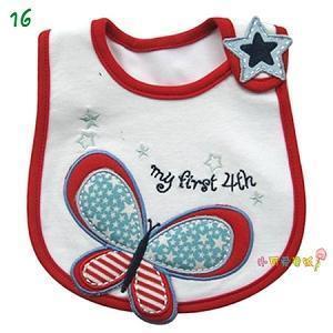 Quality 100% Cotton Baby Bib for sale