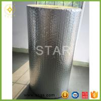 China Aluminum foil roof heat insulation material with foil coating, thermal reflect bubble material on sale