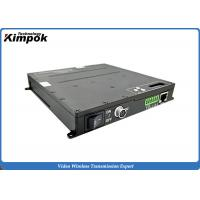 Quality 20km Point to Point COFDM AV Wireless Video Link TDD Networking Ethernet Transceiver for sale
