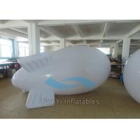 Quality Promotion 0.18mm PVC Advertising Zeppelin With Customized Logo Printing for sale