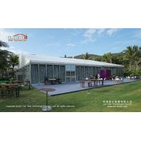 China Large Tent for Outdoor Event Warehouse with ABS wall Glass wall door on sale