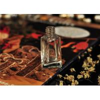 Quality 8ml Twisted Glass Clear Roll On Perfume Bottle Silk Printing Eco Friendly for sale