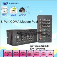 Quality 8 port modem pool (MODULE Q24plus) with USB (850/900./1800/1900Mhz) for sale