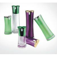 Quality 15ml 30ml 50ml Chinese manufacturer waist  shaped  cosmetics airless  bottle for sale