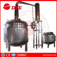 Quality Moon Copper Commercial Distilling Equipment Alcohol Distilling System for sale