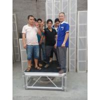 Quality Mobile Heavy Loading Outdoor Stage Platform Adjustable Height 1.22*1.22m Assembling for sale