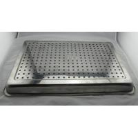 Quality Customized Size Pizza Baking Tray With Holes For Keep Dry / Containing Food for sale