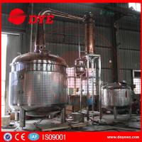 Quality 2350 Gallon Steam Hearting Copper Pot Still With A Gin Basket for sale