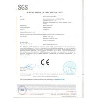 Zhejiang Aoxiang Auto-Control Technology Co., Ltd. Certifications