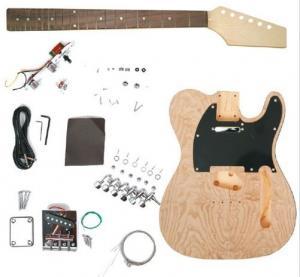 "Quality Custom Unfinished 39"" DIY Electric Guitar Kits Bolt on Neck Guitar AG-TL2 for sale"