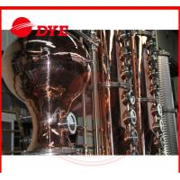 Quality Turn-key Red Copper Alcohol Distilling Machine for Wisky,Vodka,Moonshin for sale