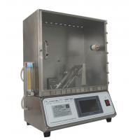 Quality ASTM D1230 Flammability Tester 45 Degree Automatic Flammability Tester for sale