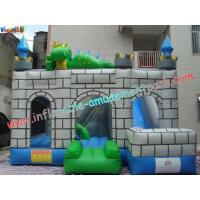 Quality Custom Inflatable Bouncer Slide Commercial Grade With PVC Tarpaulin for sale