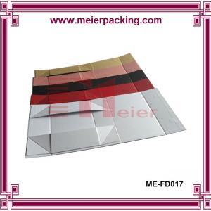 Quality CMYK Printing Paper Box, Custom Color Cardboard Folding Box, Lady Shoe Box ME-FD017 for sale