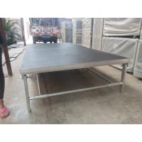 Quality Portable Aluminum Movable Stage Platform 18mm Plywood Board And Aluminum Frame for sale
