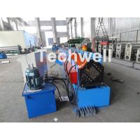 Quality Metal Stud And Track Roll Forming Machine , Sheet Metal Roll Former For Roof Truss for sale