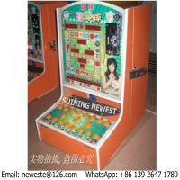 Buy Zambia Ghana Buyer Love Coin Operated Jackpot Arcade Games Slot Casino Gambling Machines at wholesale prices