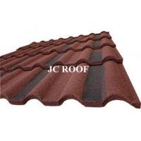 Quality Galvalume Alu - Zinc Roofing Materials Stone Chip Coated Metal Roof Tiles for sale