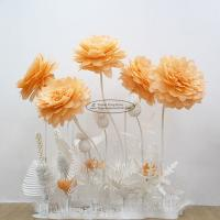 China New Paper Camellia Tissue Paper Pom Poms Craft Party Decoration on sale