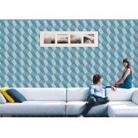 Quality 3D Effect Geometric Contemporary Wall Covering , 0.53*10M / Roll , Non-Pasted for sale