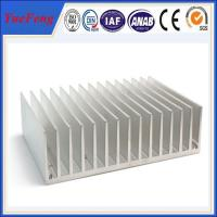 Buy Hot! OEM aluminum profile extrude fin, extruded aluminum heatsink profile for lighting at wholesale prices