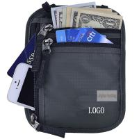Quality Anti Theft Waterproof RFID Concealed Travel Bag With Passport Holder for sale