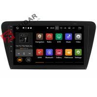 Quality 10.1 Inch 1024*600 Android Car Navigation System Skoda Octavia Car Stereo Bluetooth 4.0 for sale