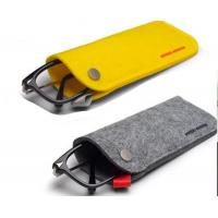 Buy sunglasses cover soft case printing Letter bag.size:9cm*18cm. 2mm microfiber. at wholesale prices