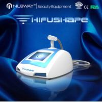 Quality salon use high efficiency ultrasound machine portable HIFUSHAPE for weight loss for sale
