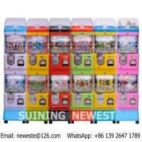Buy Coin Operated Gumball Capsules Toy Vending Game Machine at wholesale prices