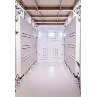 Quality Green 5 Tier ABS Commercial Gym Lockers , Water Resistant Safety Break Room Lockers for sale