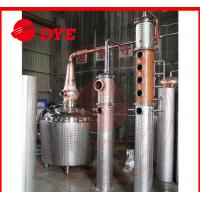 Quality Custom Copper Brandy Commercial Distilling Equipment For Fruitful Flavor for sale