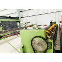 Buy Green Gabion Wire Mesh Machine 5300mm Max. Netting Width For Slope Revetment at wholesale prices