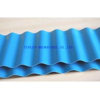 Buy SGCC Galvanized Corrugated Steel Sheet Panel, Hot Dip Galvanized Color Coated at wholesale prices
