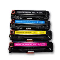 Quality Replacement for Canon CRG-731 CMYK Colour Toner Cartridges for sale