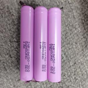 Quality 3.7V 3000mAh 18650 Lithium Ion Rechargeable Battery For Flashlight for sale