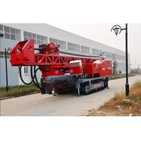 Quality The maximum drilling depth1500m Top Drive Rig Oilfield workover Drilling Rig With Crawler Mounted for sale